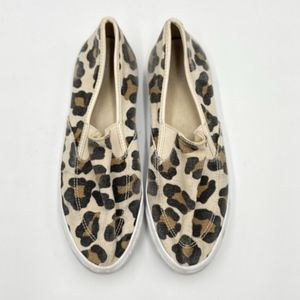 COACH Maggie Slip on Leopard Print Sneakers